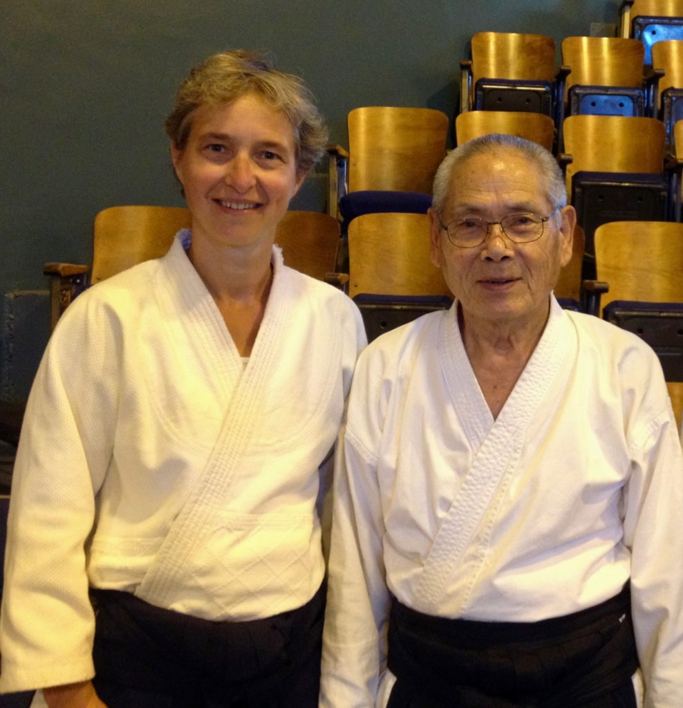 With Anno sensei - Santa Cruz summer retreat 2016